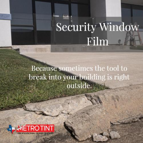 Storefront Security Window Film